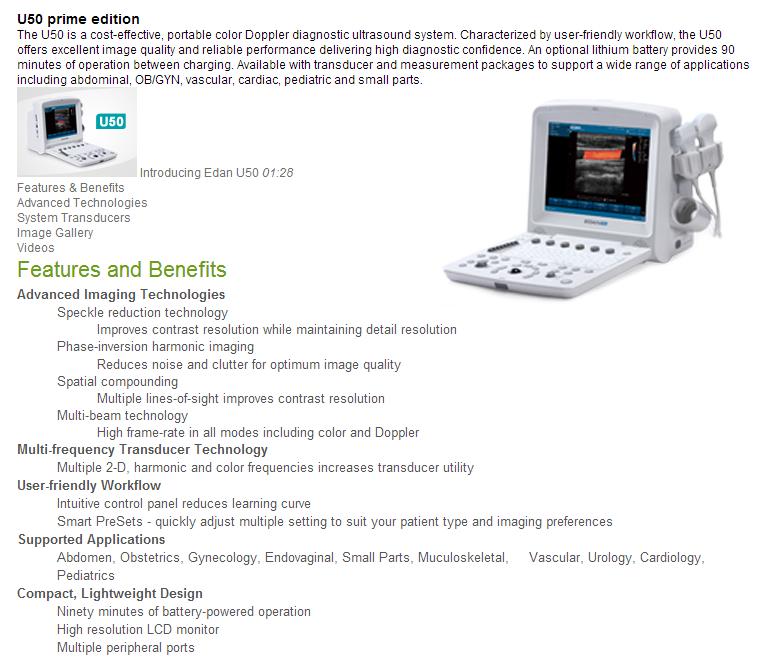 Raecho International Limited-Color Doppler Ultrasound